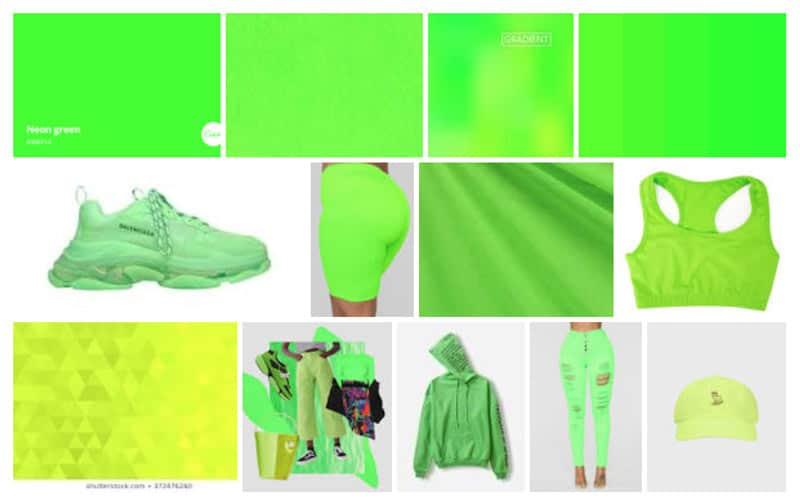 2019-color-trends-neon-green