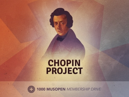 Musopen, let the music free. Next project: Chopin.