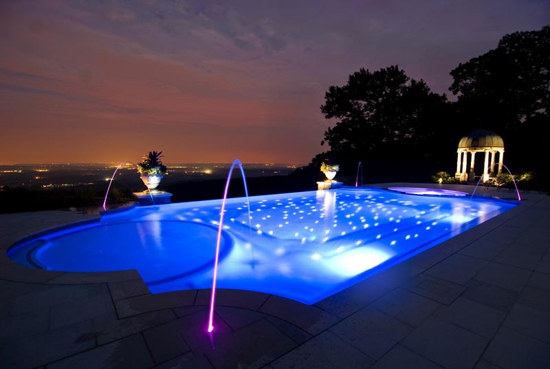 Pool Ideas Lighting
