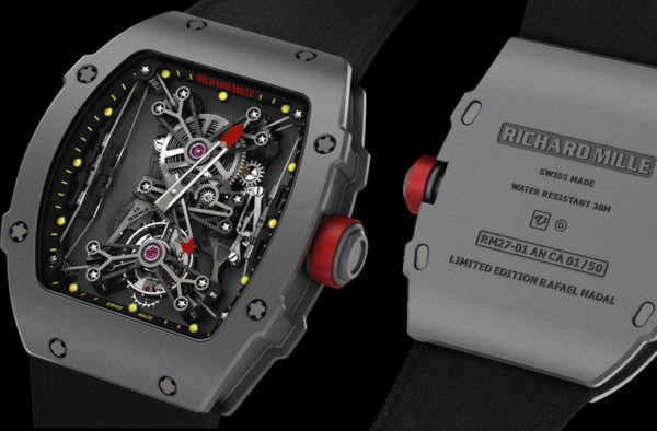Montre Richard Mille RM27-01 Limited Edition Rafael Nadal