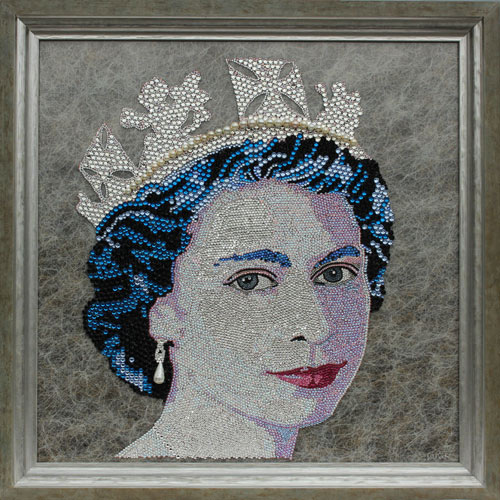 swarovski_queen by claire Milner