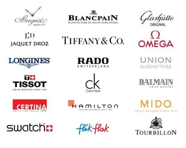 Watches Companies Logos