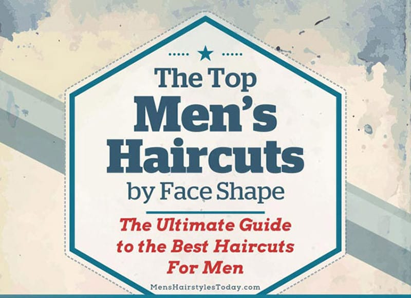 How To Choose The Right Haircut For Your Face Shape Infographics
