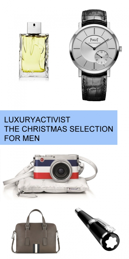 5 Men Must-haves for Christmas – Luxury gift ideas.