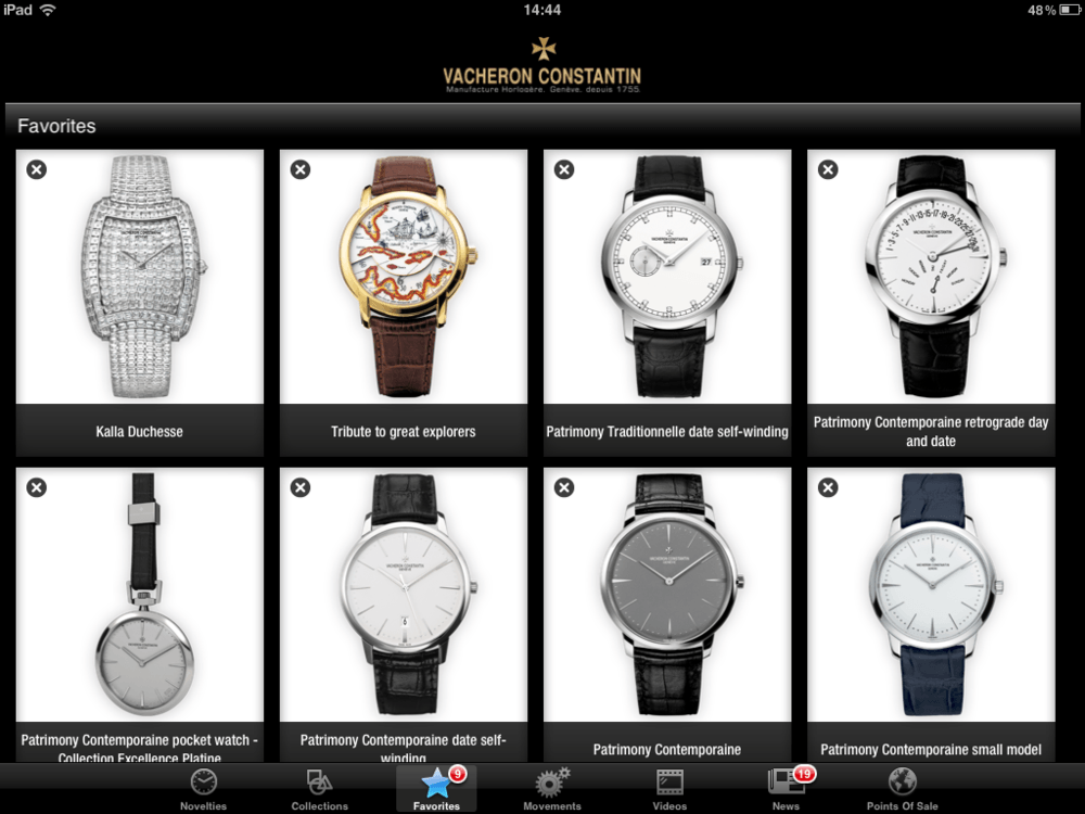 vacheron-constantin-ipad-app-favorites