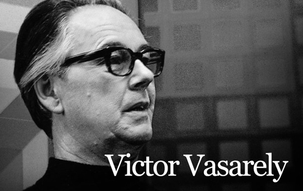 Victor Vasarely, art exhibition in Lausanne. First time ...