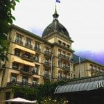 Victoria Jungfrau, Grand Hotel in Interlaken.