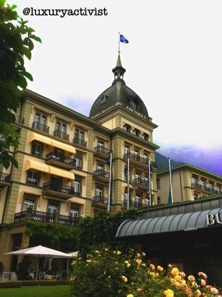 Victoria Jungfrau, Grand Hotel in Interlaken.