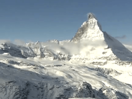 Zermatt, luxury holidays in winter.